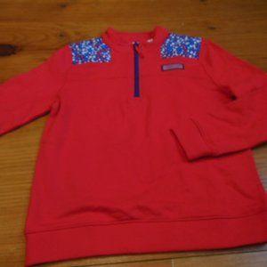 VINEYARD VINES M Red White Blue Stars Shep Shirt